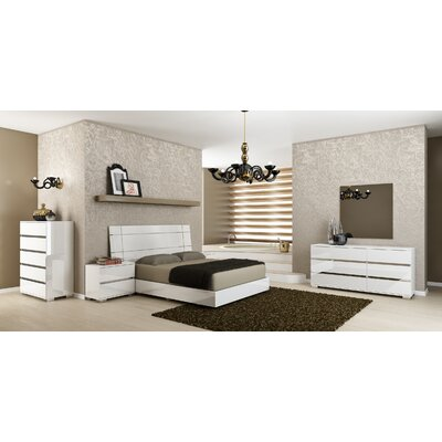Salerno Panel Customizable Bedroom Set