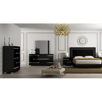 Salerno Panel Configurable Bedroom Set