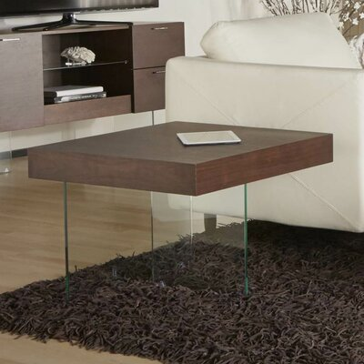 Saldivar End Table Color: Medium Walnut
