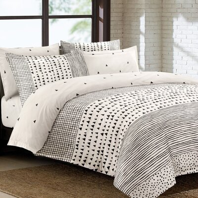 Hindman 5 Piece Duvet Set Size: King