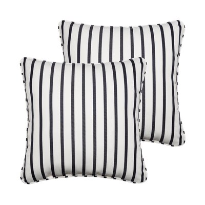 Bulter Indoor/Outdoor Sunbrella Throw Pillow Size: 22 H x 22 W x 6 D