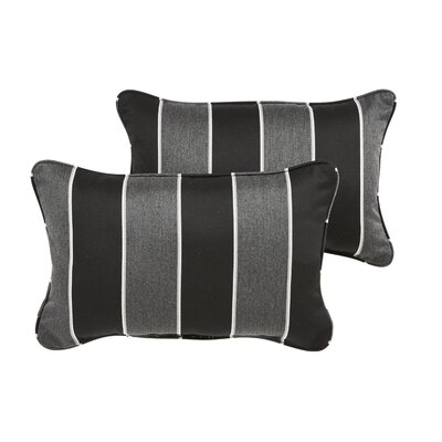 Hinkel Indoor/Outdoor Sunbrella Lumbar Pillow