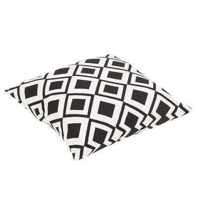 Hinnant Geometric Indoor/Outdoor Sunbrella Floor Pillow