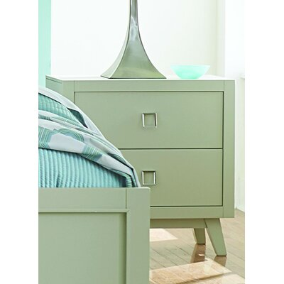 Hagerty 2 Drawer Nightstand