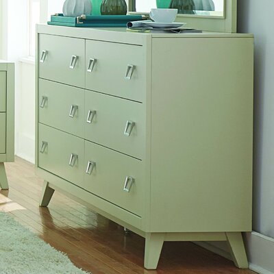 Hagerty 6 Drawer Standard Dresser