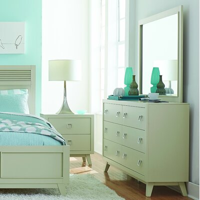 Hagerty 6 Drawer Dresser with Mirror