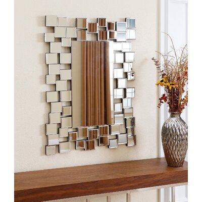 Brayden Studio Rectangle Wall Mirror