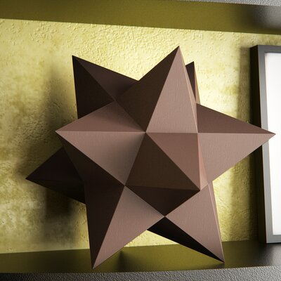 Aged Bronze Table Top Stars Décor