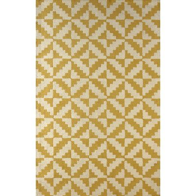 Hisey Hand-Tufted Horseradish Area Rug Rug Size: Rectangle 6 x 9