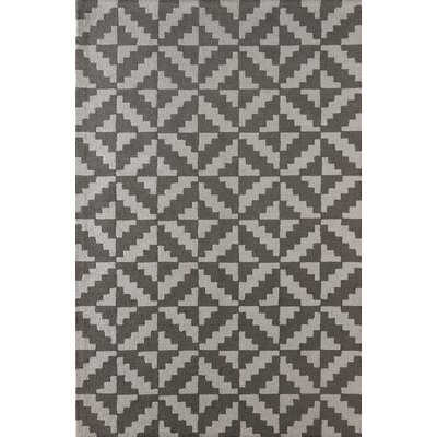 Hisey Hand-Tufted Steel Area Rug Rug Size: Rectangle 6 x 9