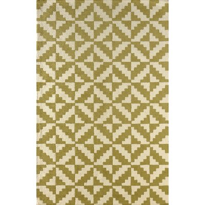 Hisey Hand-Tufted Pear Area Rug Rug Size: 6 x 9
