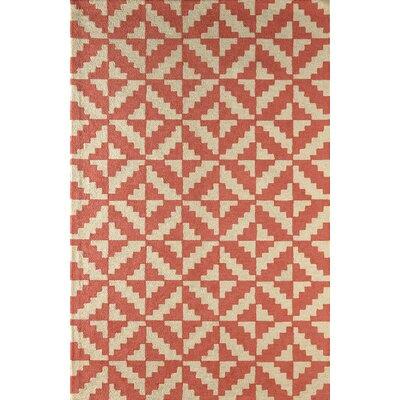Hisey Hand-Tufted Sorbet Area Rug Rug Size: 5 x 8