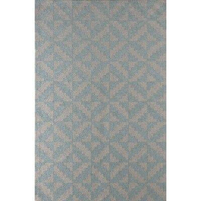 Hisey Hand-Tufted Sky Area Rug Rug Size: 8 x 10