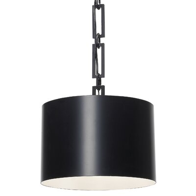 Luff 1-Light Mini Pendant Finish: Matte Black