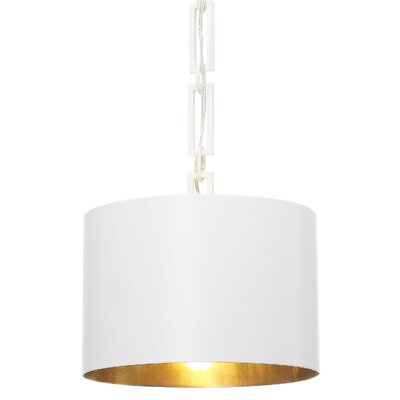 Luff 1-Light Mini Pendant Finish: Matte White