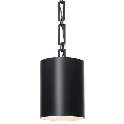 Luff 1-Light Mini Pendant Finish: Matte Black