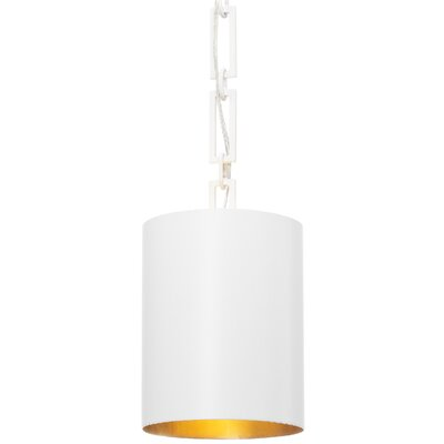 Luff 1-Light Mini Pendant Finish: Matte White