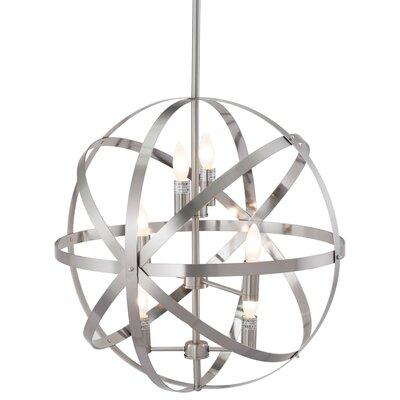 Herzberg 6-Light Globe Pendant