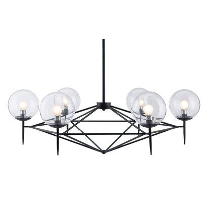 Hesse 6-Light Cluster Pendant