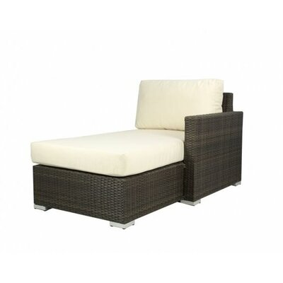 Ronning Right Arm Chaise Lounge Fabric Color: Glacier