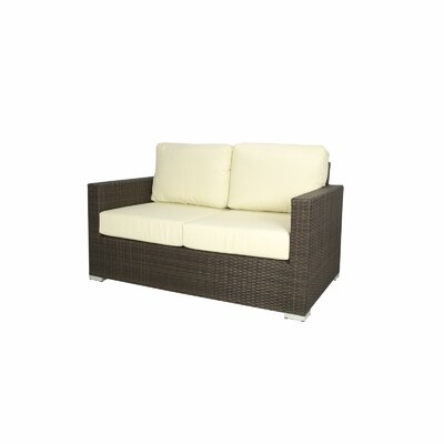 Ronning Love Seat Fabric: Natural