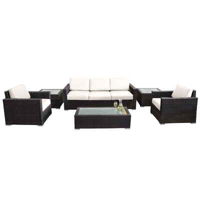 Ronning 6 Piece Deep Seating Group with Cushions