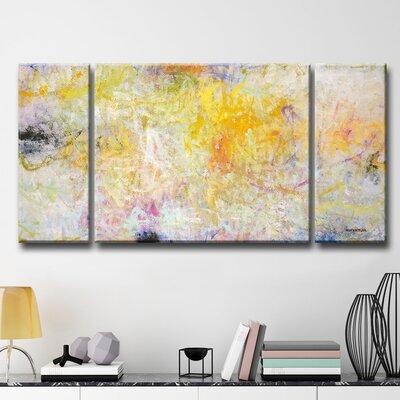 Contentment 3 Piece Print on Canvas Set
