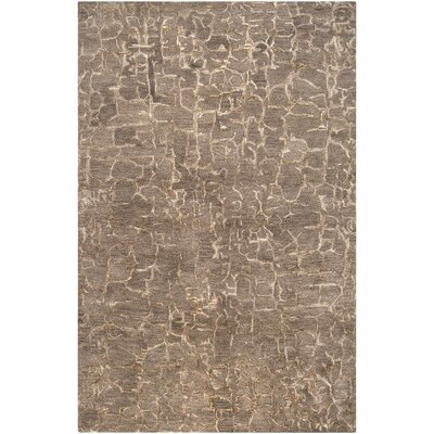 Kymani Hand-Tufted Brown Area Rug Rug Size: 5 x 8