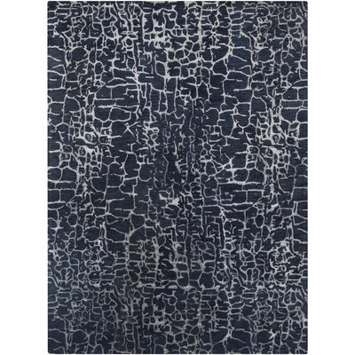 Kymani Hand-Tufted Blue Area Rug Rug Size: 8 x 11
