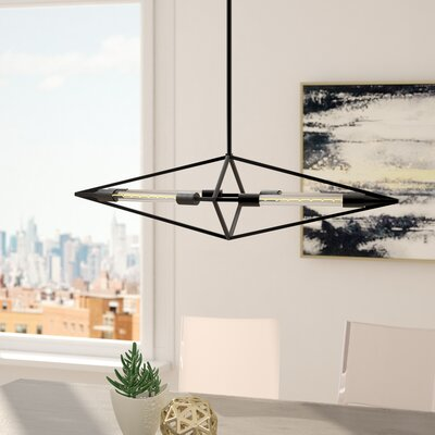 Dunleavy 4-Light Foyer Pendant