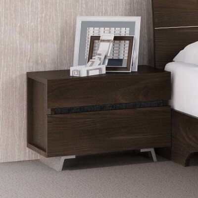 Callie Spring 2 Drawer Nightstand