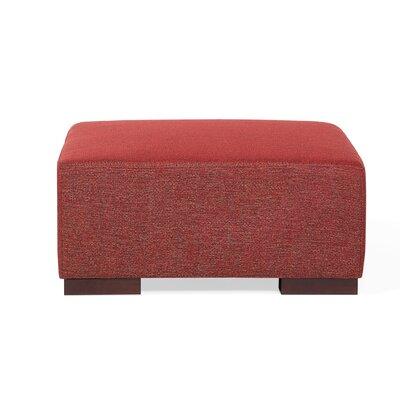 Roseman Ottoman Upholstery: Red
