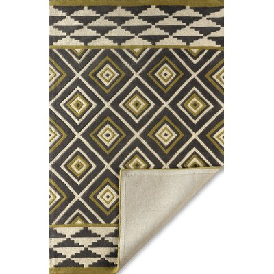 Luevano Horseradish Hand-Tufted Ivory/Green Area Rug Rug Size: Rectangle 8 x 10