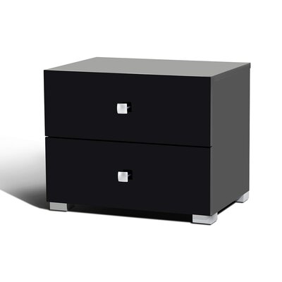 Morefield 2 Drawer Nightstand