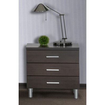 Sommerset 3 Drawer Nightstand