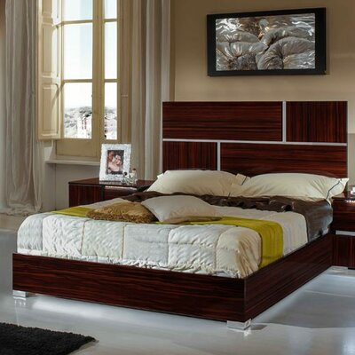 Rosenow Italian California King Platform Bed