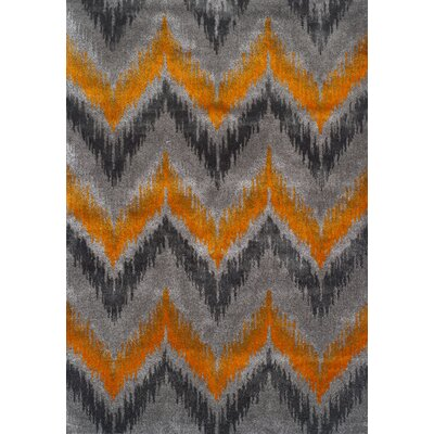 Rossman Tangerine Area Rug Rug Size: Rectangle 96 x 132