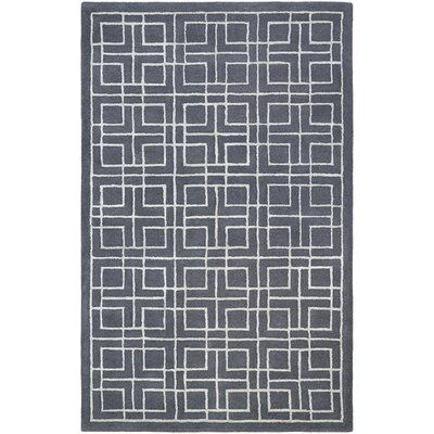 Loper Hand-Tufted Blue/Gray Area Rug Rug Size: 8 x 10