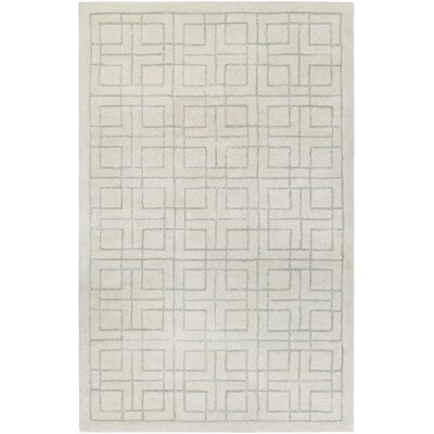 Loper Hand-Tufted Beige/Gray Area Rug Rug Size: 8 x 10