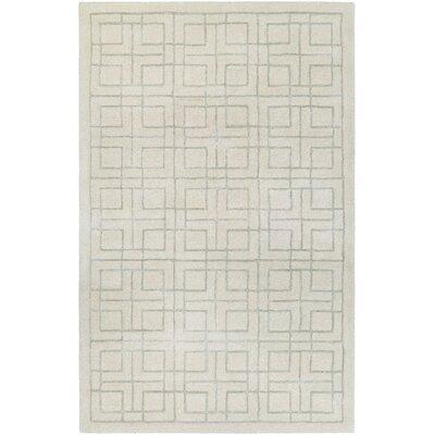 Loper Hand-Tufted Beige/Gray Area Rug Rug Size: 2 x 4