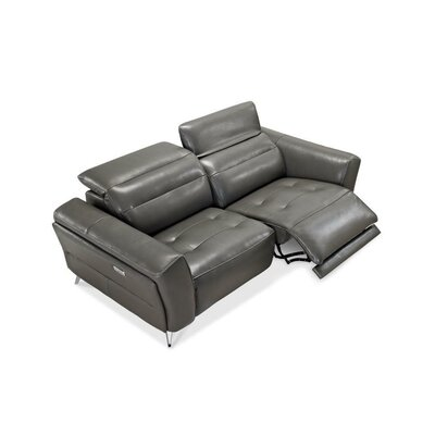 Paille 3 Piece Leather Living Room Set