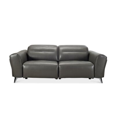 Seiber Leather Reclining Sofa