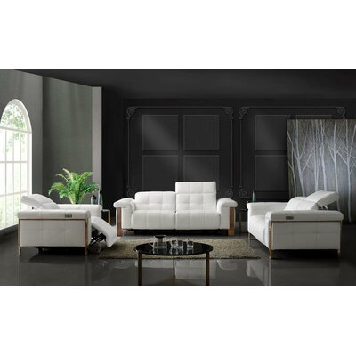 Seibold 3 Piece Living Room Set