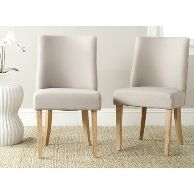 Jaimes Side Chair Upholstery: Taupe/ Beige