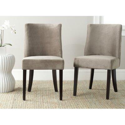 Jaimes Side Chair Upholstery: Mushroom Taupe
