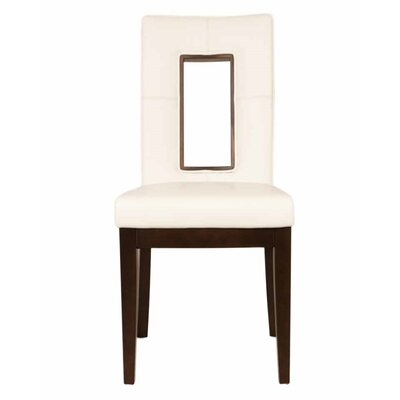 Salerno Parsons Chair (Set of 2) Upholstery: Off White