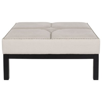 Bellows Cocktail Ottoman Upholstery: Taupe