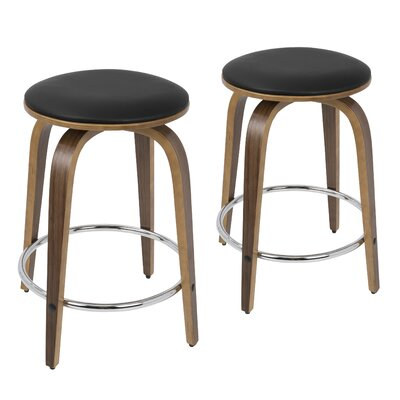 Lucchesi 24.5 Swivel Bar Stool