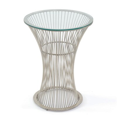 Stroh Spool End Table