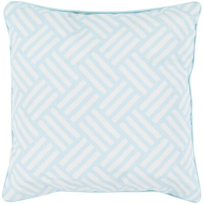 Moyers Outdoor Throw Pillow Size: 20 H x 20 W x 4 D, Color: Teal